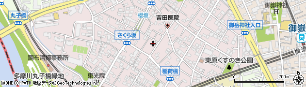 東京都大田区田園調布本町周辺の地図