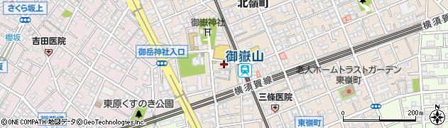 東京都大田区北嶺町周辺の地図