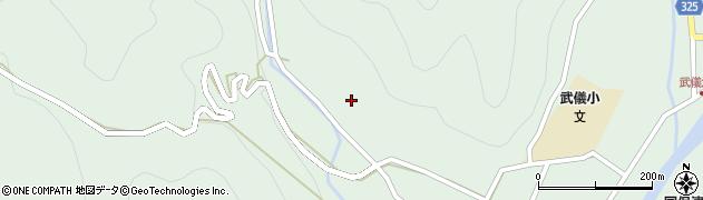岐阜県関市富之保(水成)周辺の地図