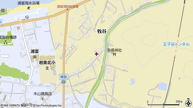 〒681-0001 鳥取県岩美郡岩美町牧谷の地図
