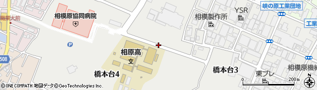神奈川県相模原市緑区橋本台周辺の地図