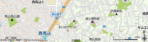 湯殿神社周辺の地図