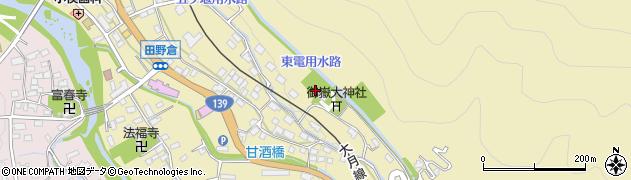 瑞雲寺周辺の地図