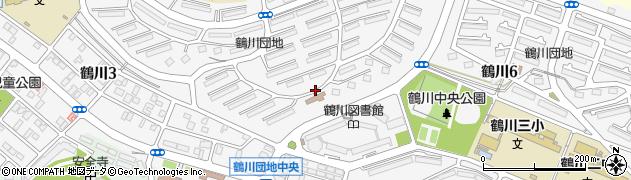 東京都町田市鶴川周辺の地図