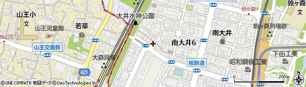 おかもと鍼灸・整骨院周辺の地図