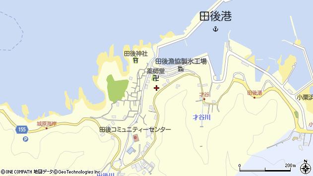 〒681-0071 鳥取県岩美郡岩美町田後の地図