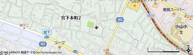 神奈川県相模原市中央区宮下本町周辺の地図