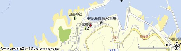 鳥取県信魚連田後支店周辺の地図