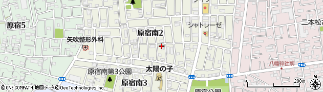 神奈川県相模原市緑区原宿南周辺の地図