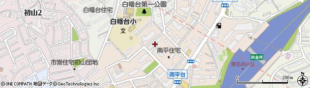 神奈川県川崎市宮前区南平台周辺の地図