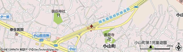 東京都町田市小山町周辺の地図