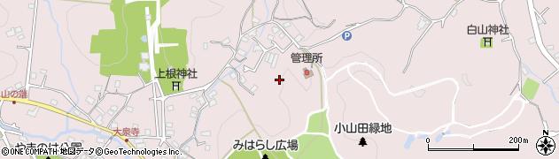東京都町田市下小山田町周辺の地図