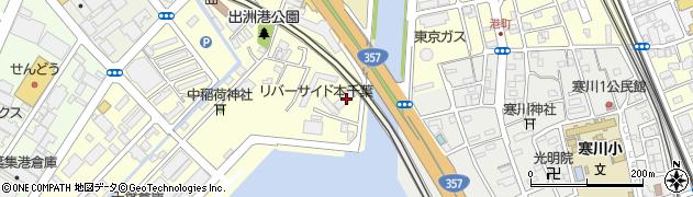 千葉県千葉市中央区出洲港7-37周辺の地図