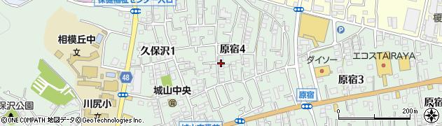神奈川県相模原市緑区原宿周辺の地図