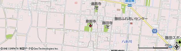 泉能寺周辺の地図