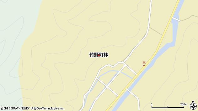 〒669-6227 兵庫県豊岡市竹野町林の地図