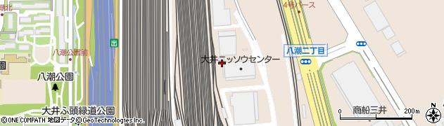 東京都品川区八潮周辺の地図