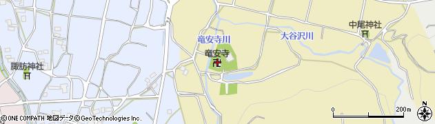 竜安寺周辺の地図