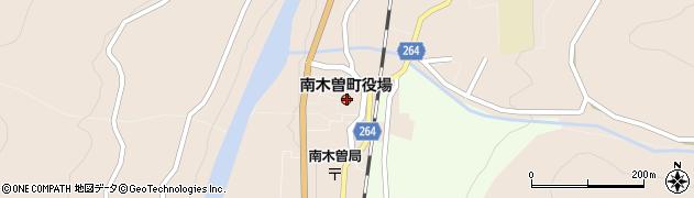 長野県南木曽町(木曽郡)周辺の地図