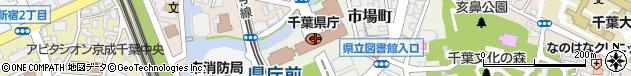 千葉県周辺の地図