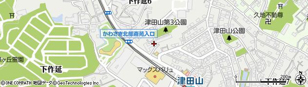 日向住宅周辺の地図
