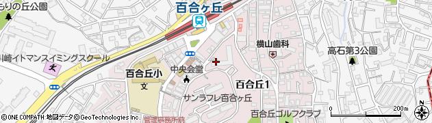 都市再生機構職員宿舎周辺の地図