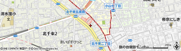 網焼工房周辺の地図