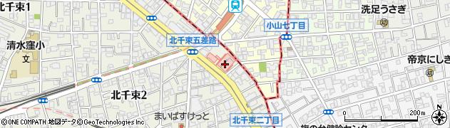 ドミノ・ピザ洗足店周辺の地図