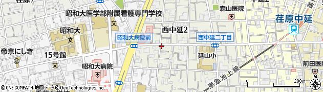 アンシャンテ周辺の地図