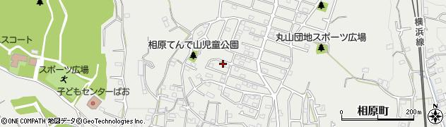 東京都町田市相原町周辺の地図