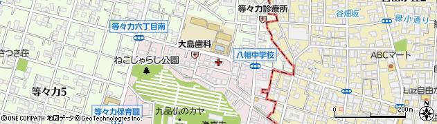 東京都世田谷区奥沢7丁目48-12周辺の地図