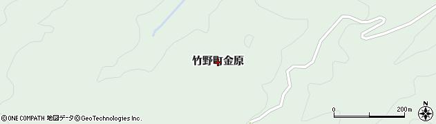 兵庫県豊岡市竹野町金原周辺の地図