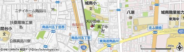 天妙国寺周辺の地図