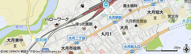 山梨県大月市大月 住所一覧から地図を検索 マピオン