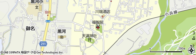福智院周辺の地図