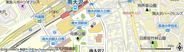 鳥貴族 南大沢店周辺の地図