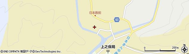 岐阜県関市川合下周辺の地図