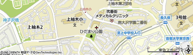 南大沢学園周辺の地図