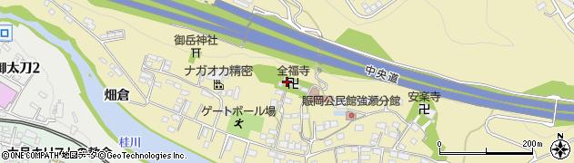 全福寺周辺の地図