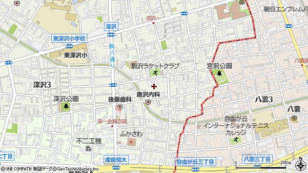 番号 世田谷 郵便 区 奥沢