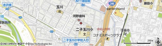 東京都世田谷区玉川周辺の地図