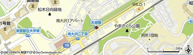 大田橋周辺の地図