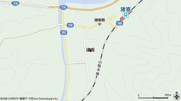 〒669-6753 兵庫県美方郡新温泉町諸寄の地図