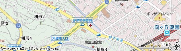 新川ガーデンヒル周辺の地図