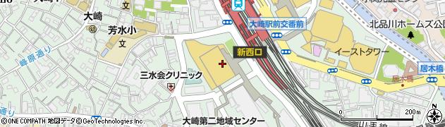 CELTS 大崎ThinkPark店周辺の地図