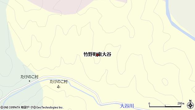 〒669-6228 兵庫県豊岡市竹野町東大谷の地図