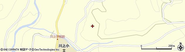 岐阜県中津川市川上(田畑)周辺の地図