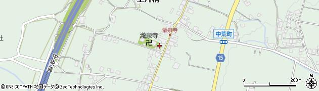 瀧泉寺周辺の地図