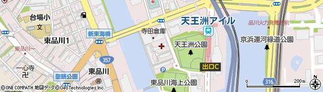 都営東品川第五アパート周辺の地図