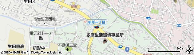 枡形1周辺の地図